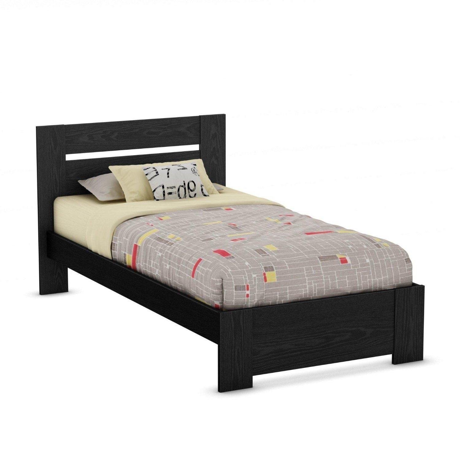 twin size bed rustic wooden frame that is designed for the use of one person with a strong foot. Black Bedroom Furniture Sets. Home Design Ideas